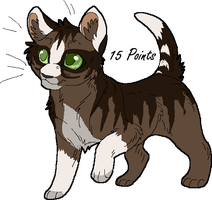 Kitten Point Adopt 2 GONE by Kasara-Designs
