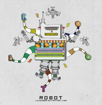 Robot by luxegaba