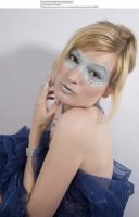 Blue mask 5 by almudena-stock