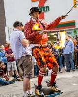 Flaming Stick of Awesome!! by OOCPhotography