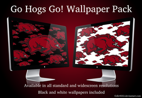 Go Hogs Go Wallpaper Pack by DeirdreReynolds