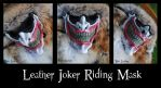 Leather Joker Riding Mask by Epic-Leather