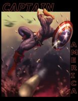 Captain America by artofjosevega