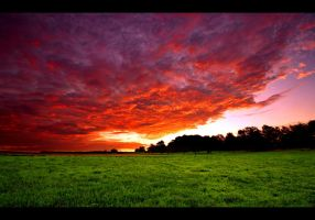Burning Sky by JoInnovate