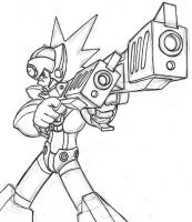Axl drawing traced by anti-tanX