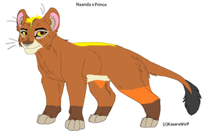 Naanda x Prince breedable by digimonfrontier77