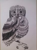 The Owl by Dominica1