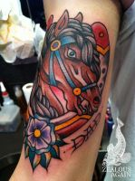 Horse by GooseTattoo