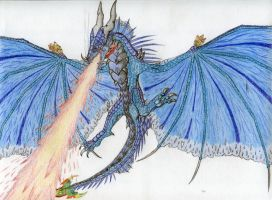 Krilvokunmiin, Leviathan of the Skies by Drohung-DragonNinja