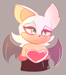 Rouge the bat by Dogy9978