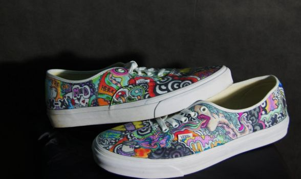 Custom Vans Side View by HybridMoments77