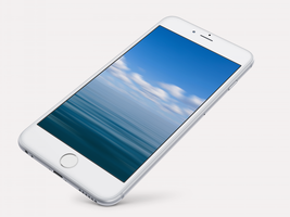 Seascape Wallpaper for iPhone 6 and 6 Plus by kiwimanjaro