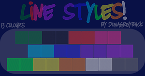 Line Styles by DonaGreyback