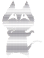 Mewbie.jpg To Ascii art using jp2a (screenshot) by mewbies