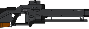 KXW-18 Mass Driver Rifle by IgorKutuzov