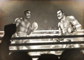 Boxing Battle by Zoroko