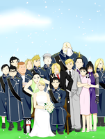 Wedding--Collab by niktropolis