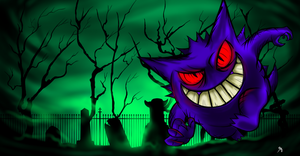 Gengar by Billyib