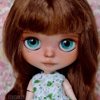 Dorothea (custom OOAK Blythe doll) by Katalin89