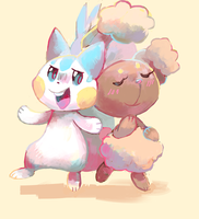 Pachi n bun by sweating