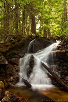Upper Cedar Hollow Falls by La-Vita-a-Bella
