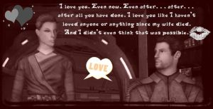 Carth's Love for Revan by HollieCat13