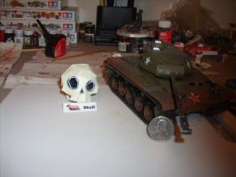 skull papercraft picture 1 by AUSTINMEADOWS