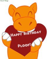 Happy B-Day Ploof! by Faith-Wolff