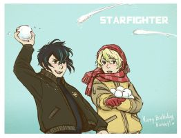 starfighter - snow battle. by MadH