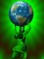 GREEN 4 EARTH DAY by lordcoyote