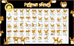 Patamon Shimeji +FREE+ by Cachomon