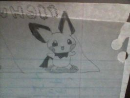 Pichu by Tinkerbell0522