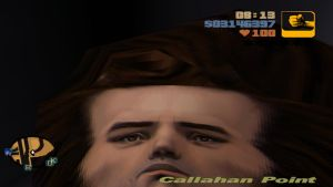 GTA 3 Smooshed Face by impostergir007