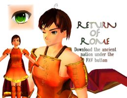 .::MMD Download - Ancient Rome::. by Amenrenet