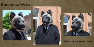Business Wolf by WestWindHowling
