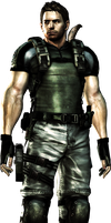 Chris redfield render by WeskerFan1236