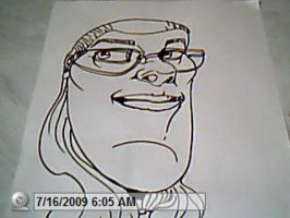 caricatures1 by llothcat