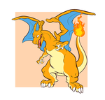 Happy Zard by AppleRat