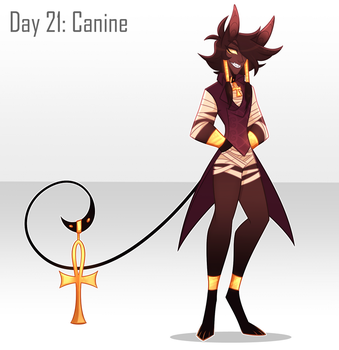 [30 Day Challenge] Day 21: Canine Boy by frogtax