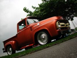 '56 Ford F-100 II by AmericanMuscle