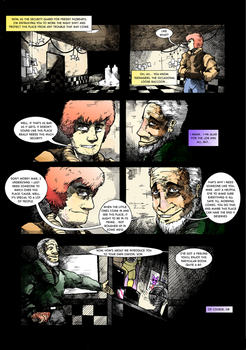 Five Nights at Freddy's : Day and Night page 3 by EyeOfSemicolon