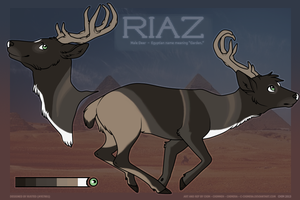 AF2K13: Riaz the deer! by c-Chimera