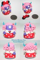 Minnie Fan Timid Monster by TimidMonsters