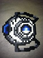 Wheatley perler by ZanderYurami