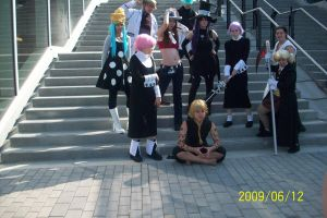 Soul Eater gang cosplay by Halowing
