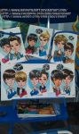 EXO Caricatures at Disneyland by emilynguyenart