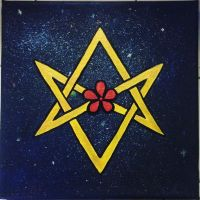 Unicursal Hexagram in Space by Angulique