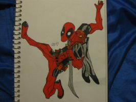 Another DeadPool by Blackhatarcher