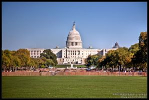 US Capitol by delobbo
