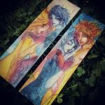 Dawn Dusk bookmark by Otai